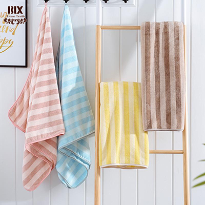 Double-Sided Cation High-Density Cora Fleece Soft Absorbent Thickened Towel Set