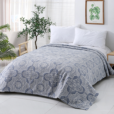 Ultra Soft Lightweight  Decoration floral  design cotton  Bedspread